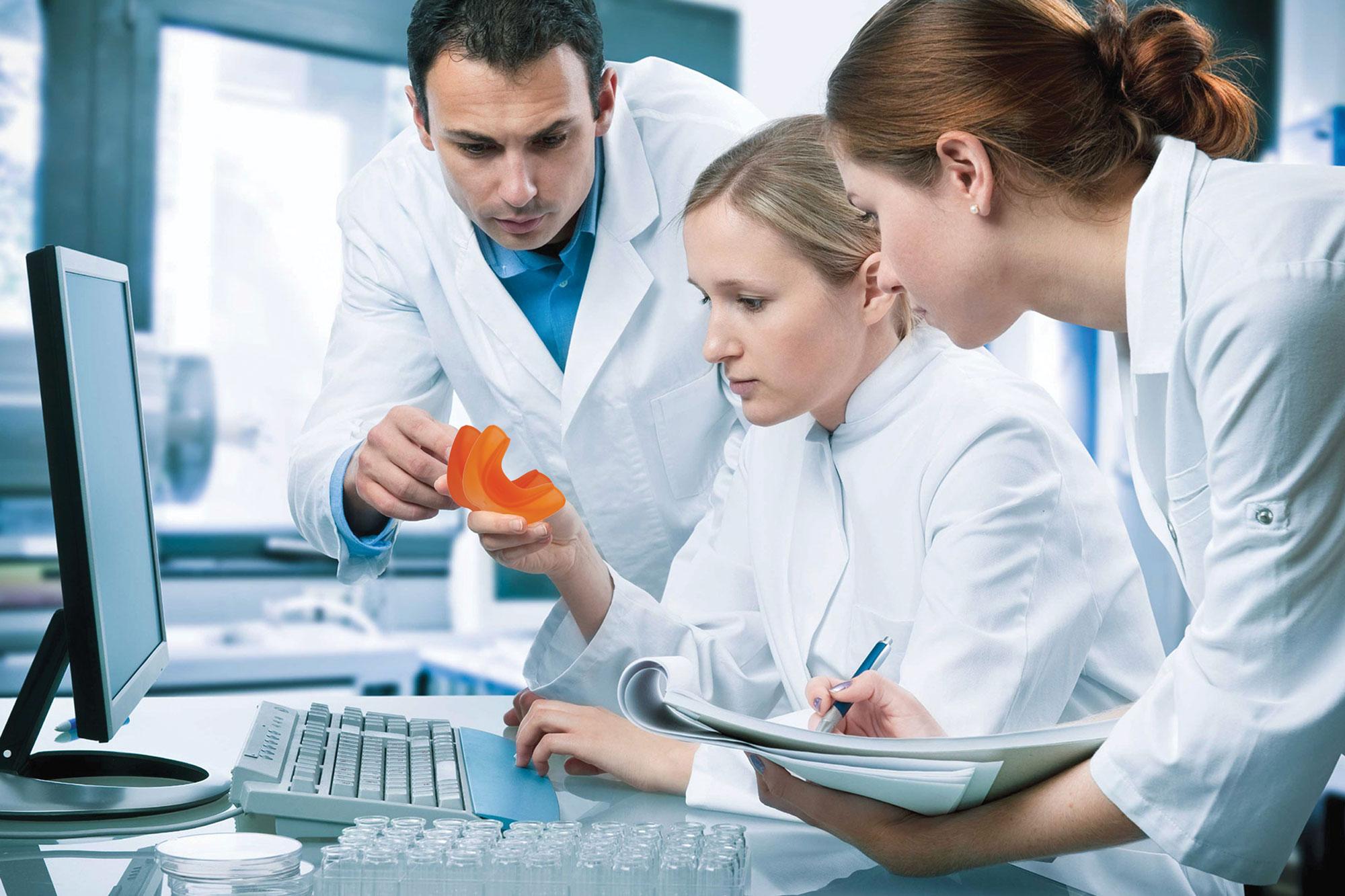 In laboratorio Eptamed si studiano nuovi prodotti e varianti per gli Equilibratori